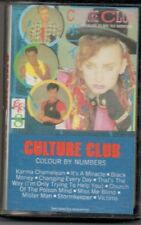 Culture Club Colour By Numbers 1983  Music Cassette QET 39107