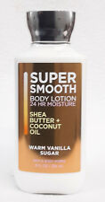 1 Bath & Body Works WARM VANILLA SUGAR Body Lotion Shea Butter Coconut Oil