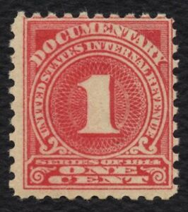 #R207 1c Documentary, Mint OG NH [12] **ANY 5=FREE SHIPPING**