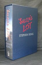 SALEMS LOT Stephen King SLIPCASED LIMITED 1st ED NEW Cemetery Dance