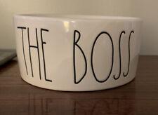 New listing Rae Dunn The Boss Dog Bowl, New