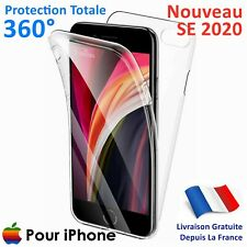 Coque Protection 360 iPhone SE 2020 8 7 6 Plus 11 Pro XS MAX X XR Integrale