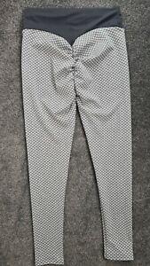 Scrunch Butt Leggings Gym Yoga Pants High Waist Anti Cellulite Fitness Small S
