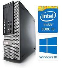 Dell OptiPlex 7010 SFF Quad Core i5-3470 8GB 128GB SSD Windows 10 Pro Computer