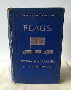 James Griffin - Flags National & Mercantile - UK HB 2nd 1891 Colour Illustrated