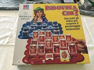 INDOVINA CHI? MB Milton Hasbro 1996 Guess Who? GIOCO SCATOLA