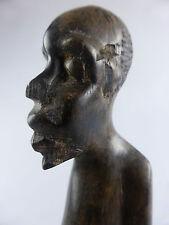 JOLIE STATUETTE EN BOIS RDC CONGO ART TRIBAL ART AFRICAIN AFRICANISME ZAIRE