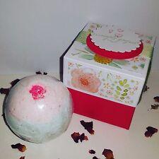Lush Bath Bomb Fizzie Bamboo Lotus Scent Gift Box Large 4.5 oz!
