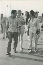 Dalida, Alexandre Astruc et Lorien Lorient Vintage silver print Tirage argenti