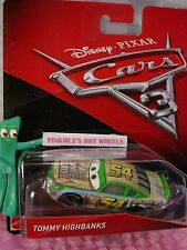 New 2017 PIXAR Disney Cars 3 TOMMY HIGHBANKS✿Green/Blue✿54 FAUX WHEEL DRIVE
