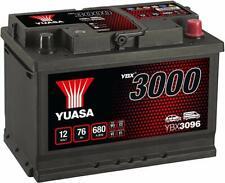 YUASA PREMIUM - YBX3096 -  12v Type 067 Car Battery 3 Year Warranty
