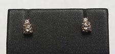 LeVian Chocolate Diamond Stud Earrings in 14K Strawberry Gold