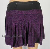 NEW LULULEMON Circuit Breaker Skirt TALL 2 4 6 10 Circuit Aurora Black Run NWT