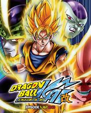 DVD Dragon Ball Kai Episode 1 - 167 END..English Dubbed Dual Audio All Region