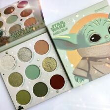 🔥Colourpop Mandalorian 💅 Baby Yoda Eye Shadow 💄 Palate Makeup Star Wars 🔥
