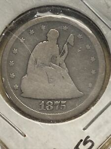 1975-S Seated Liberty 20 Cent Piece Coin G/AG