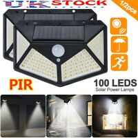 Outdoor Wall Lights Up Down LED Bricklight Integral PIR Modern Garden Lighting