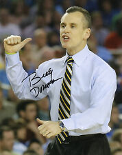 BILLY DONOVAN SIGNED FLORIDA GATORS BASKETBALL 8X10 PHOTO PROOF NCAA CHAMPS
