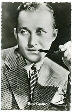 CARTE POSTALE PHOTO PERSONNALITE BING CROSBY
