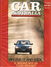 Car Oct 86 Nissan Skyline Commodore Turbo Supra Sports roof Honda Legend Audi 80