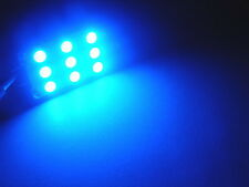 1 X Blue LED Festoon 31 mm Interior Reading Light Bulb Falcon .,