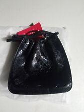 Gucci Black Leather Drawstring Bucket Handbag Size Small  MINT CONDITION