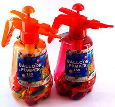 BALLON PUMPER - Bombes à eau Pompe 150 d'eau Lot De 2 ROUGE-ORANGE