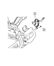 Genuine MOPAR Horn And Bracket 5026994AD