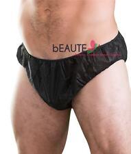 6 Pcs Disposable Men's Brief Waxing Spray Tanning - DP110B x1