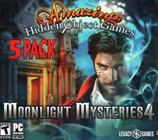 Amazing Hidden Object Games Moonlight Mysteries 4 PC Game Window 10 8 7 Computer