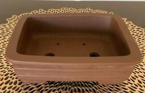 "SALE! 8"" Unglazed Bonsai Tree Pots. Choose from several styles."