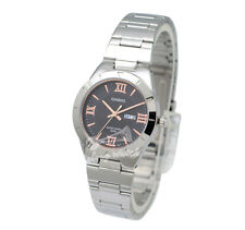 -Casio LTP1410D-1A Ladies' Metal Fashion Watch Brand New & 100% Authentic