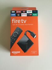 Amazon - Fire TV Stick with 4K Ultra HD and Alexa Voice Remote - Black New