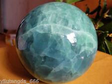 100MM Glow In The Dark Natural Green Fluorite Magic Crystal Healing Ball