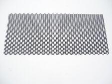 Universal Negro Plástico Panal De Ventilación Parachoques Parrilla de malla de carrera de apertura engranados