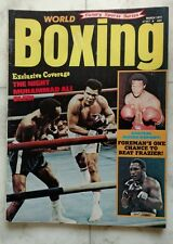 WORLD BOXING Magazine ~ March 1973 ~ Foreman Frazier MUHAMMAD ALI ~ EXCELLENT