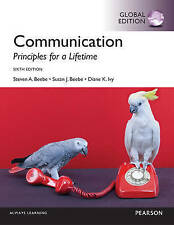 Communication : Principles For a Lifetime 6th Global By Beebe, Ivy 9781292102863