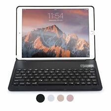 iPad Pro 10.5 Keyboard case Protective Stand Cover Backlit LED for Apple (Black)