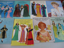 Paper Doll Big Lot Movie Star Actress Marilyn Monroe Shirley Temple Garbo