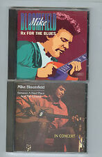 Mike Bloomfield (2 CD LOT) Between A Hard Place And the Ground / Rx For The Blue