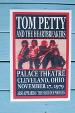 Tom Petty Concert Tour Poster 1979 Cleveland Palace Theatre