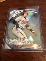 2020 BOWMAN CHROME GLIMPSES OF GREATNESS HESTON ADLEY RUTSCHMAN ORIOLES