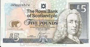 THE ROYAL BANK OF SCOTLAND PLC,5 POUND-UNC (JACK NICKLAUS) 2005