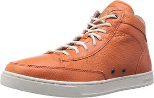 Diesel Mens HI-CULTURE Casual Fashion Burnt Ochre Leather Shoe Sneaker US 11M
