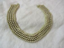 Vintage Japan faux Pearl Collar