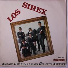 LOS SIREX: Olvidame + 3 45 (Spain, PS, creases) Rock & Pop