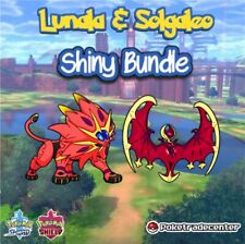 Pokemon Sword And Shield Solgaleo & Lunala Shiny Bundle 6Ivs Max Evs Pokerus