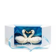 Steiff Limited Edition Wedding Swan Set Gift Boxed 021114