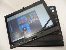 """Lenovo ThinkPad X201 Tablet 12"""" Windows 10,Intel i5-U520,1.07GHz,4GB,320GB HDD"""