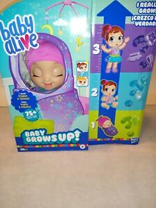 Baby Alive Baby Grows Up Dreamy Doll Brand New